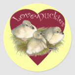 Love Duckies Stickers