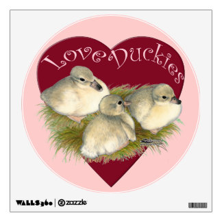 Love Duckies Wall Decal