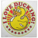 Love Ducking Cloth Napkins