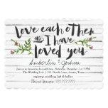 Love Each Other Bridal Card