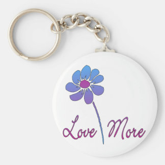 Love Each Other More Keychain