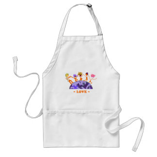 Love - Earth Adult Apron