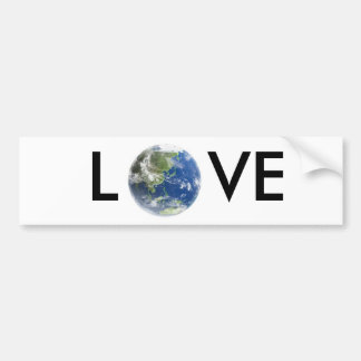 Love Earth Bumper Sticker