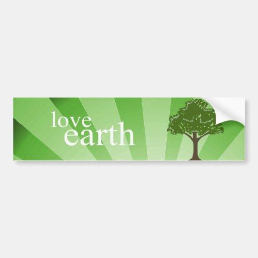 love earth bumper stickers