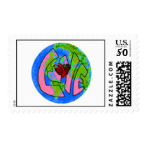 love earth day postage