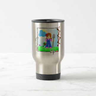 Love Earth, For It Is Life. Travel Mug