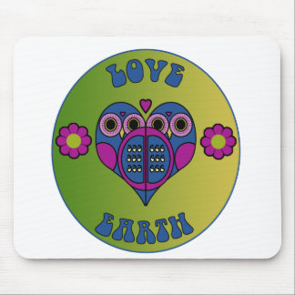 Love Earth Mouse Pad