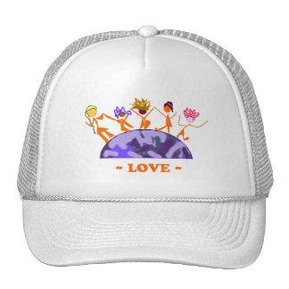 Love - Earth Trucker Hat