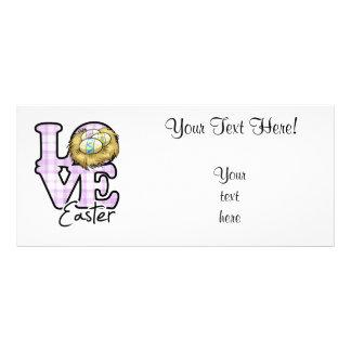 Love Easter Rack Card