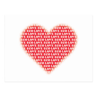 LOVE ECO POSTCARD