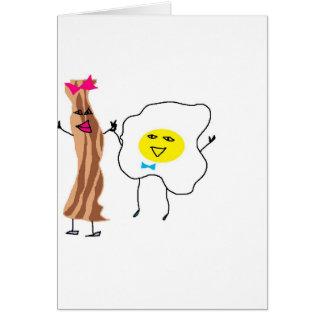 LOVE & EGGS CARD