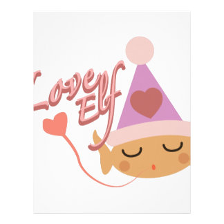 Love Elf Letterhead