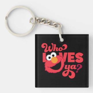 Love Elmo Keychain