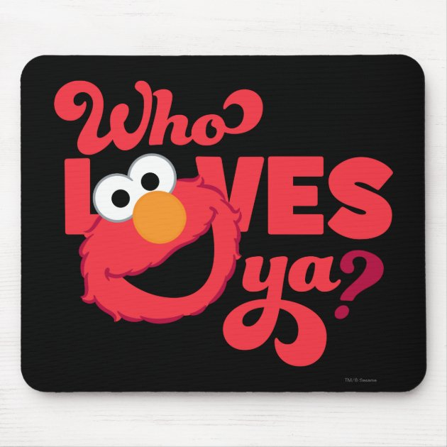 Check Out These Hot Deals on Elmo Mouse Pad Office Mouse Pad Round ...