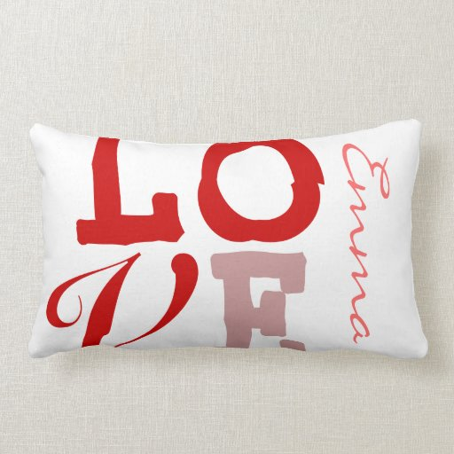 Love Emma Personalized Name Pillowcase for Girls Pillow
