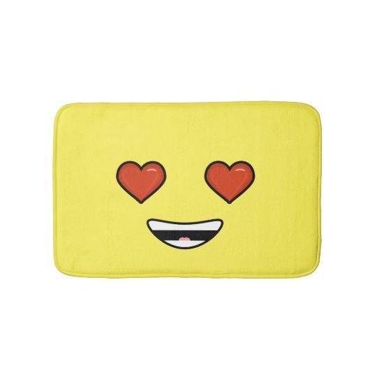 Love Emoji Bathroom Mat