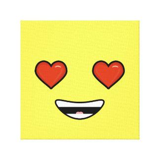 Love Emoji Canvas Print