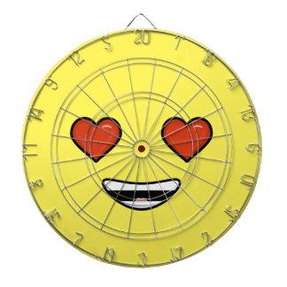 Love Emoji Dartboard