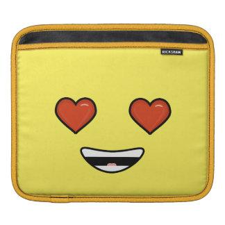 Love Emoji iPad Sleeves