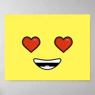 Love Emoji Poster