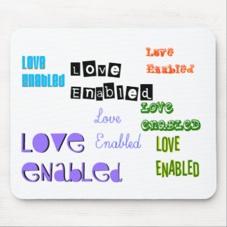 Love Enabled Tag Mousepads