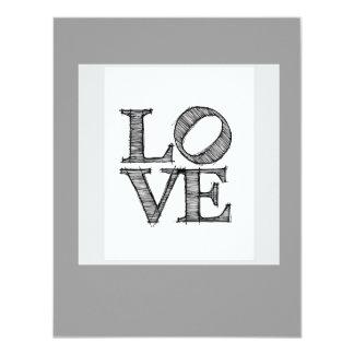 Love Engagement Invitation