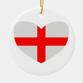 Love England Ornaments