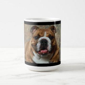 Love English Bulldog Puppy Dog Coffee Cup Mug
