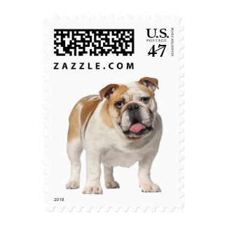 Love English Bulldog Puppy Dog US Postage Stamps