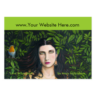 """Love Entangled"" Business Card"