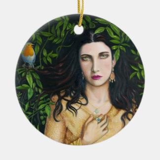 """""""Love Entangled"""" Goddess Ornament / Pendant"""