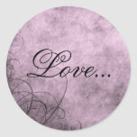 Love- Envelope Seals: Love's Twilight Collection Stickers