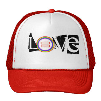 LOVE (equal marriage) Trucker Hat