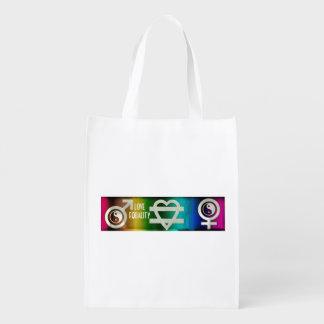 Love Equality Grocery Bag