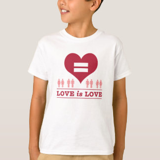 Love Equality Heart Love Is Love T-Shirt