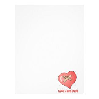 love equals boo boos letterhead