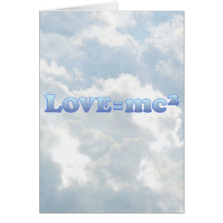 Love Equals mc2 - Mult-Products Card