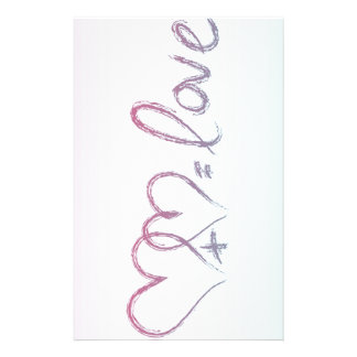 Love Equation Stationery