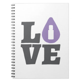 LOVE Essential Oils Notebook