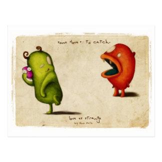 Love Estrange Critters Postcard
