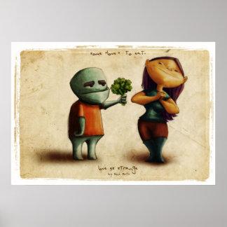 Love Estrange Critters Poster