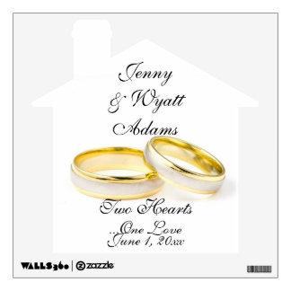 Love Eternal Bond Wedding Wall Sticker