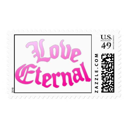 Love Eternal Pink Stamps