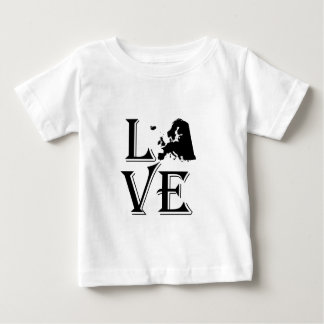 Love Europe Continent Baby T-Shirt