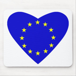 Love Europe Mouse Pad