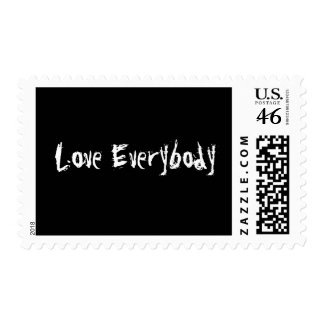 Love Everybody Stamps