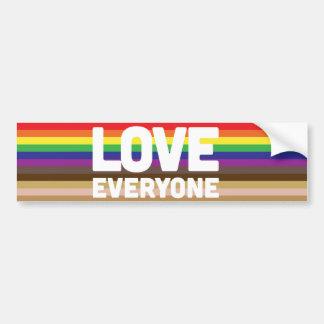 Love Everyone Bumper Sticker