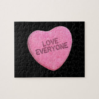 LOVE EVERYONE CANDY - png Puzzles