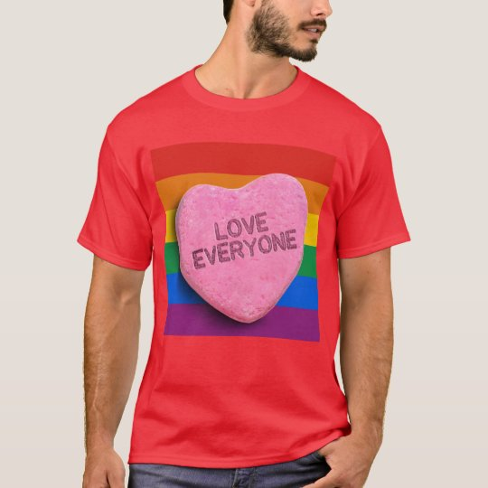 LOVE EVERYONE CANDY -.png T-Shirt