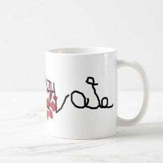 LOVE EVOL HATE ETAH CLASSIC WHITE COFFEE MUG